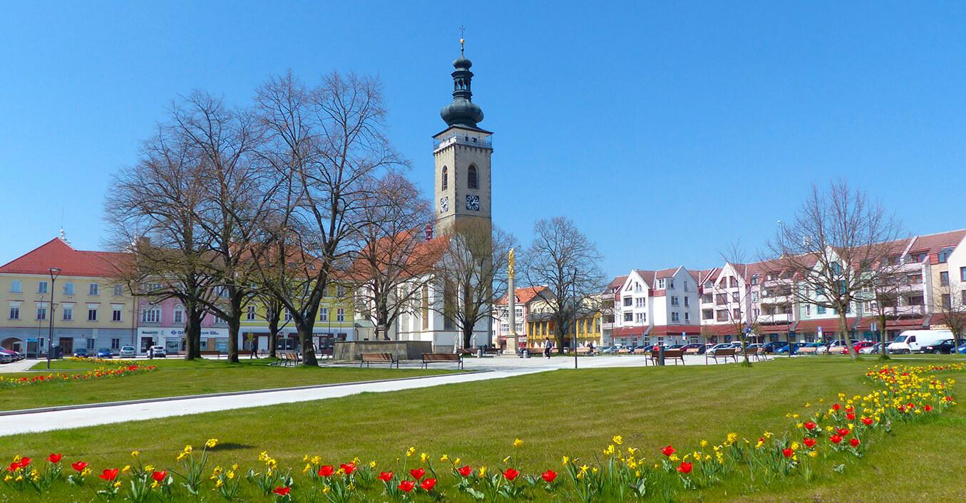 Soběslav náměstí
