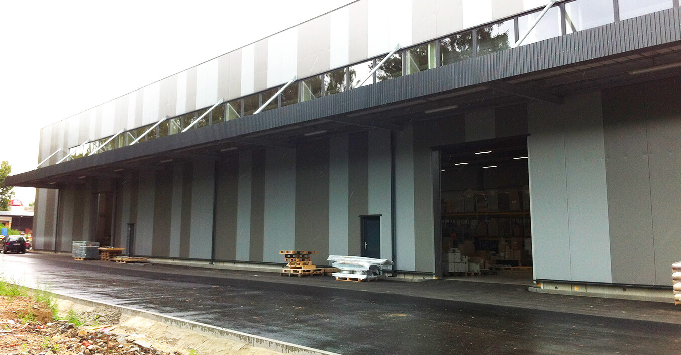 Přestavba a dostavba areálu ASPERA